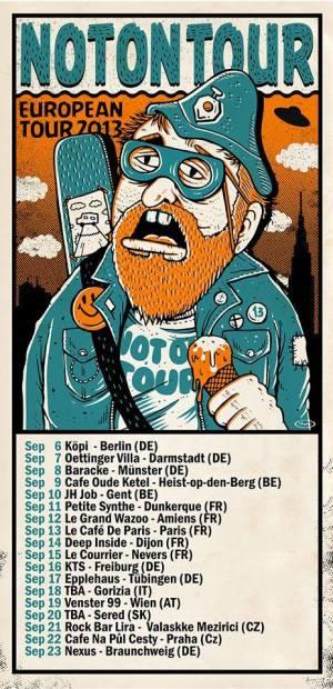 2013 European tour dates updated